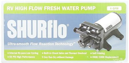 81vMhLOKyQL._SX450_ amazon com shurflo 4048153e75 electric water pump automotive shurflo rv water pump wiring diagram at bayanpartner.co