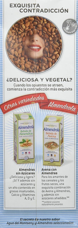 Almendrola - Bebida Vegetal de Almendras Original - 1L: Amazon.es ...
