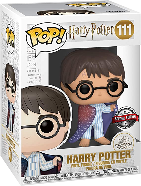 POP Funko Harry Potter 111 - Harry Potter with Invisibility ...