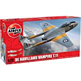 Airfix 1:72 De Havilland Vampire T.11 Aircraft Model Kit