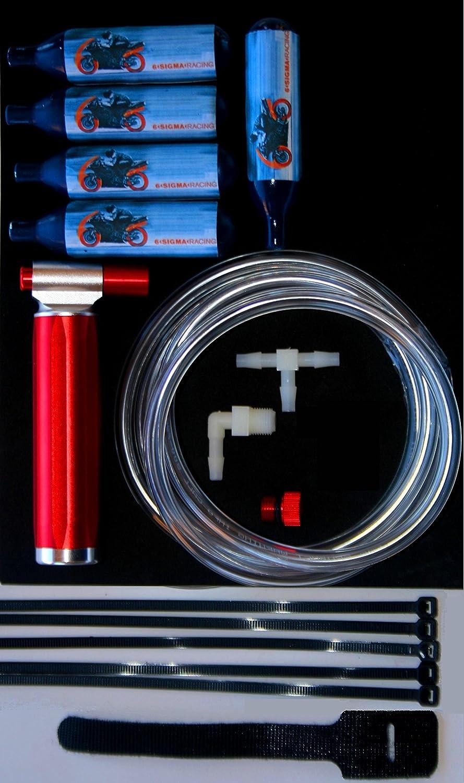 Small Engine NOS NO2 Nitrous Oxide Kit 250-500 2 & 4 Stroke, EFI & Carb +5 Bottles of NOS … 6 Sigma