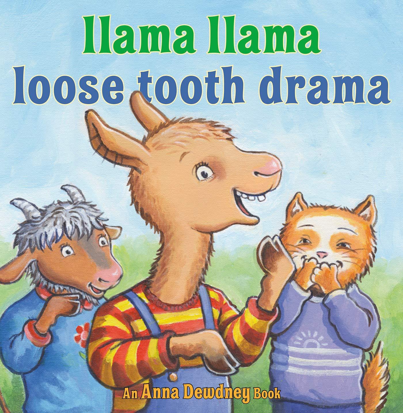 Amazon.com: Llama Llama Loose Tooth Drama (9780593206034): Dewdney, Anna,  Morrow, JT: Books