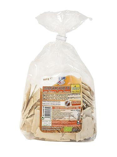 La Finestra Sul Cielo Mini Crackers de Trigo con Sésamo - 250 gr: Amazon.es: Alimentación y bebidas