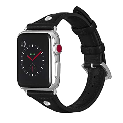 Aladrs Compatible con Correa Apple Watch 38mm 40mm Delgadas ...