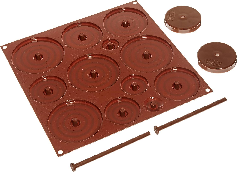 Shangwelluk Moule en Silicone Chocolat Lettre G/âteau Bricolage Fondant Cuisson en Silicone pour Chocolats Bonbons et Gla/çons Petit avec rev/êtement antiadh/ésif