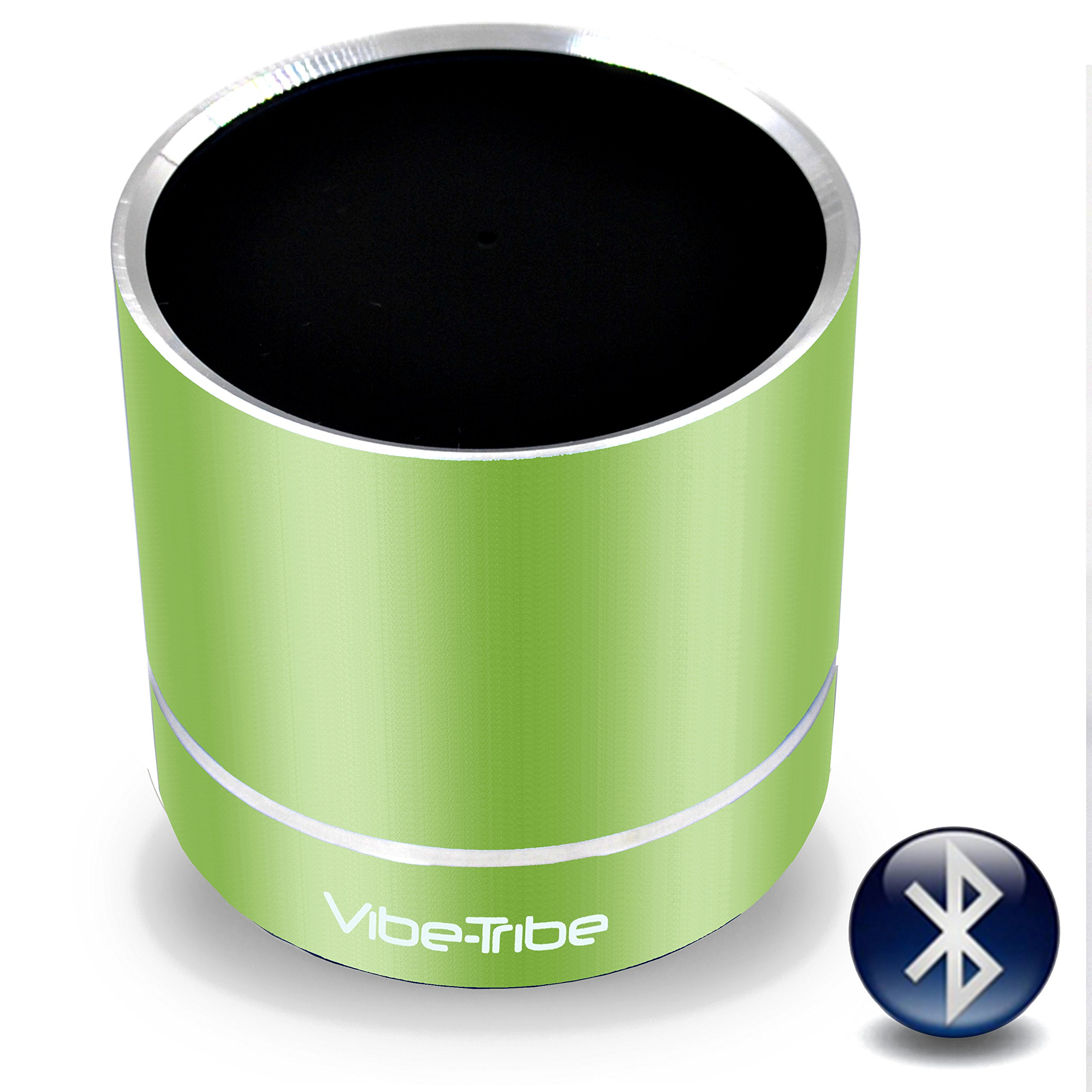 Vibe-Tribe Troll Plus Lime Green: 12 Watt Bluetooth Vibration Speaker with Hands Free