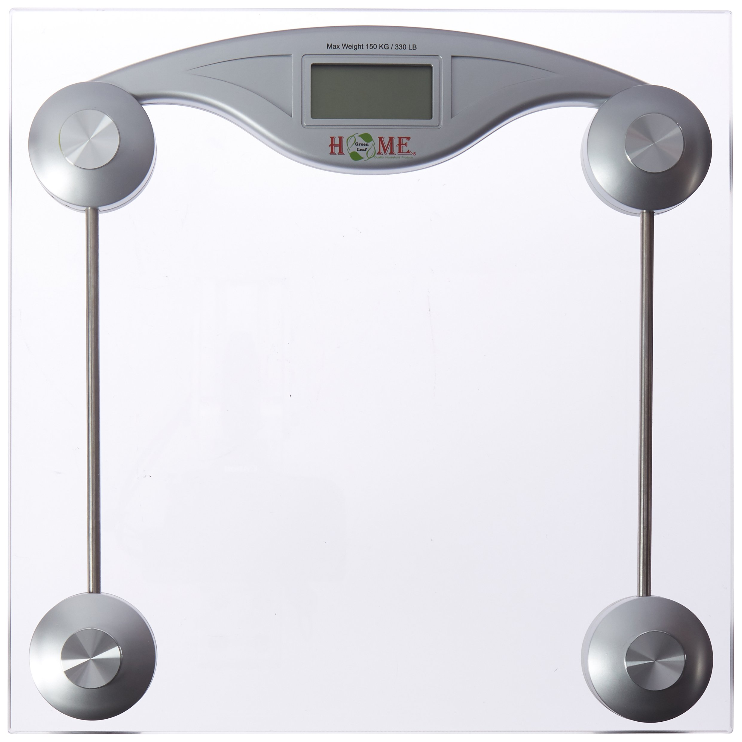 Uniware Digital Square Glass Electronic Scale (Maximum Weight: 150 Kg / 330 Lb) [8503]