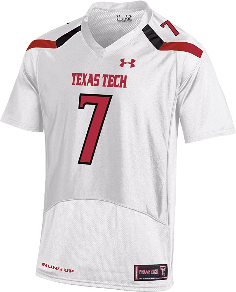 best loved afdad 3a1f9 NCAA Texas Tech Red Raiders Replica Football Jersey