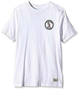 Vans Disney Ninos Blanco Mickey Mouse camiseta-X-Large: Amazon.es: Deportes y aire libre