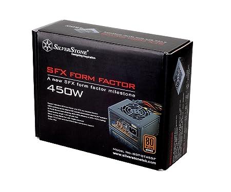 Amazon.com: Silverstone Tek 450W SFX Form Factor Power Supply ...