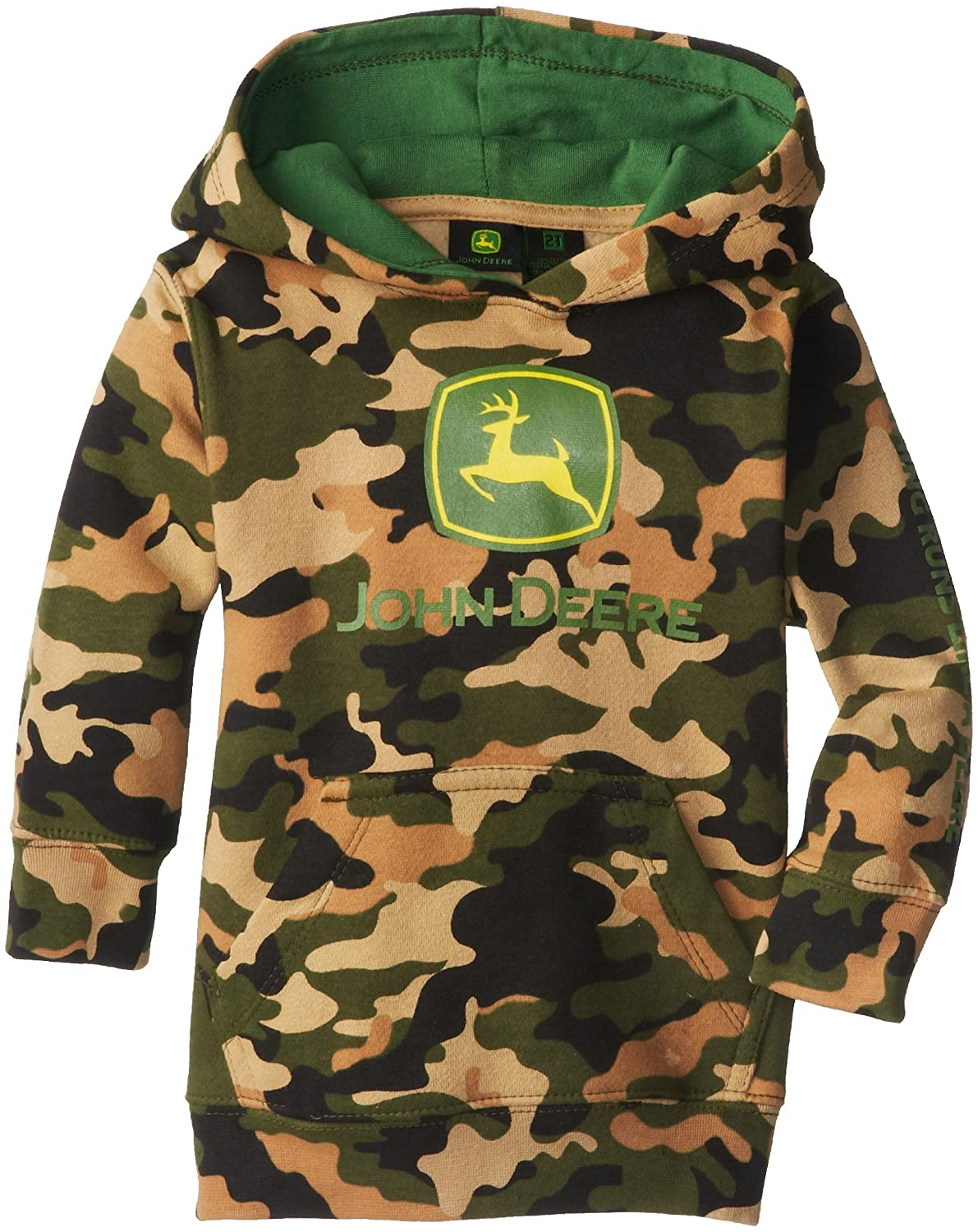 Amazon.com: John Deere Little Boys' Trademark Fleece Pullover ...