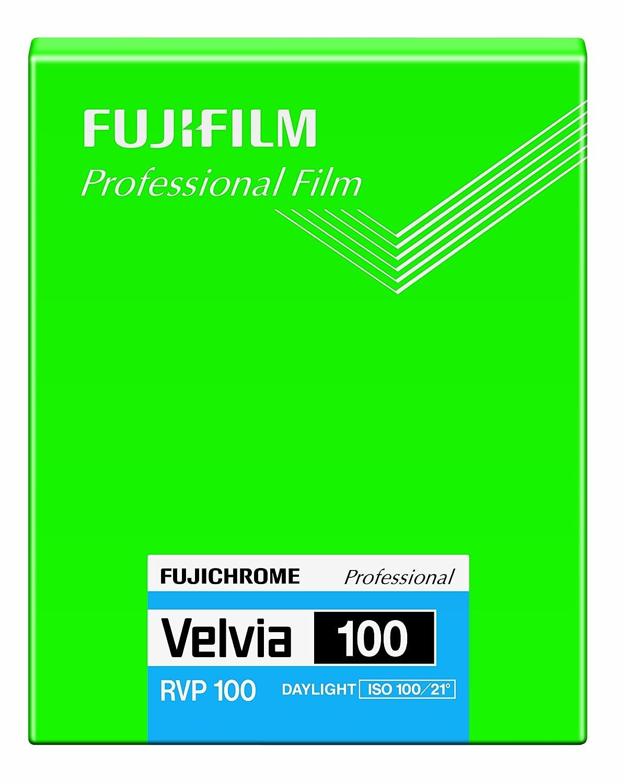 FUJIFILM リバーサルフィルム フジクローム Velvia 100 シート 20枚 CUT VELVIA100 NP 4X5 20 シート  B00C2M63D2