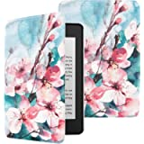 MoKo Case Fits Kindle Paperwhite (10th Generation, 2018 Releases), Premium Ultra Lightweight Shell Cover with Auto Wake…