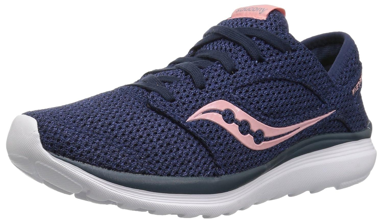 Saucony Women's Kineta Relay Running Shoe B0785FS36J 9.5 M US|Navy/Pink
