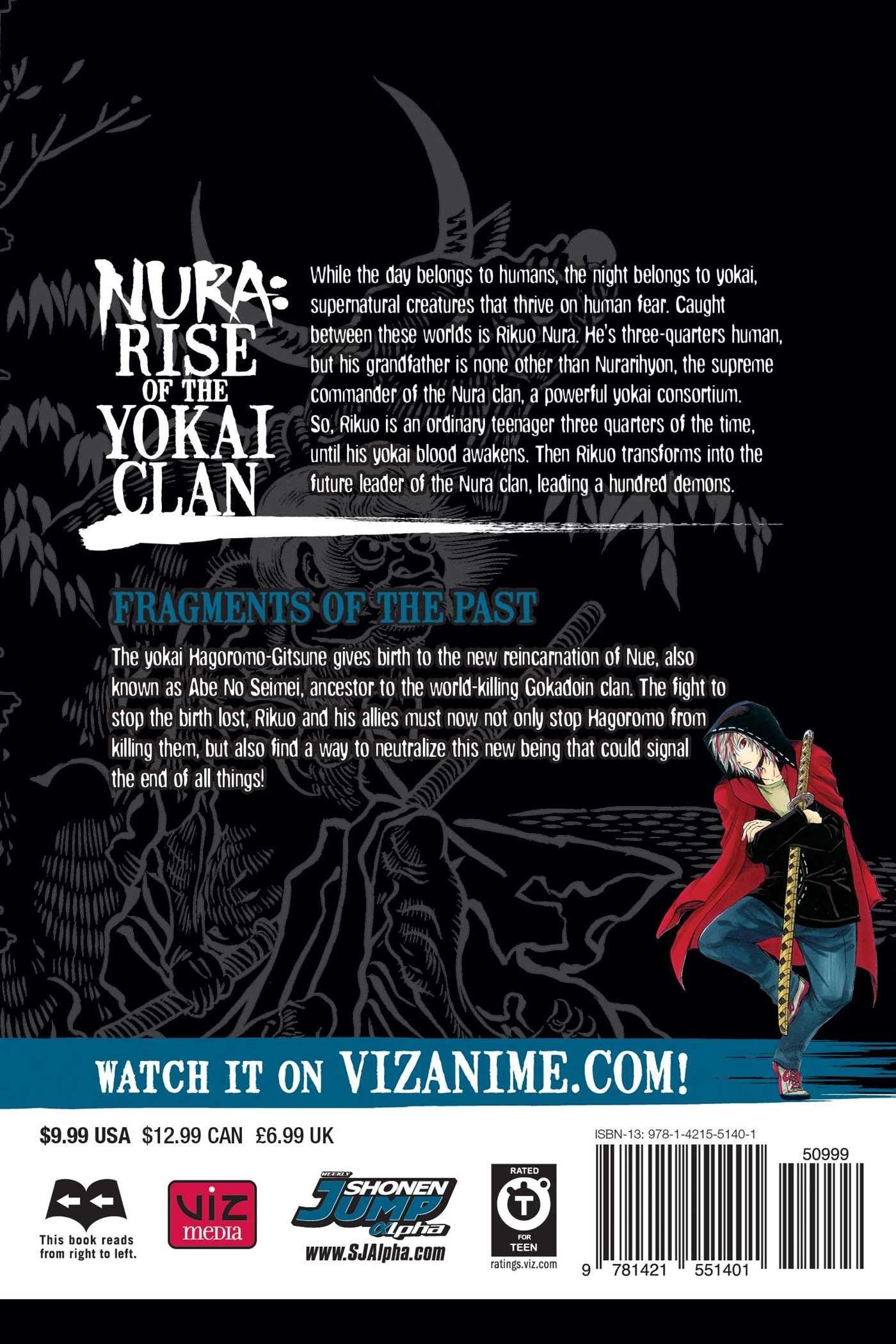 Read PDF Nura: Rise of the Yokai Clan, Vol  15: Fragments of