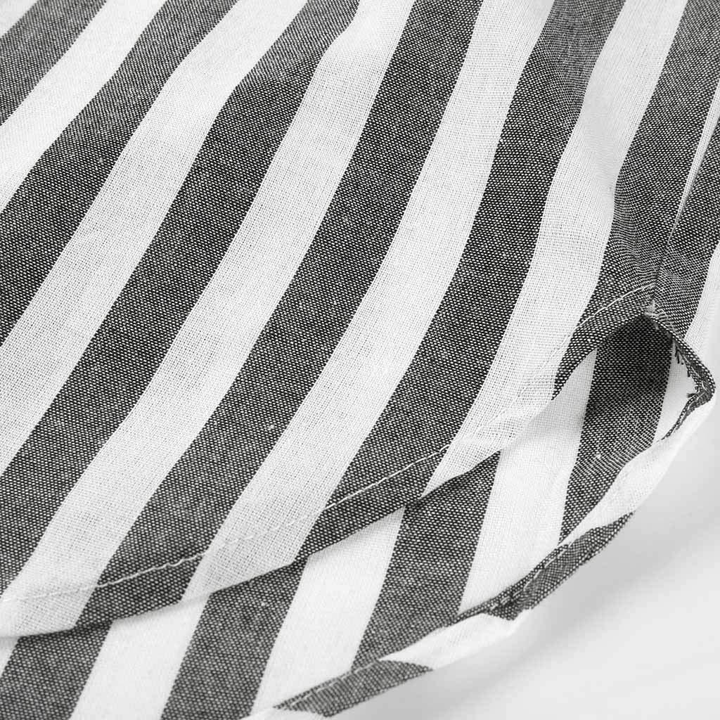b19c707b9f850 Internet — Camisa de Manga Larga con Estampado de Rayas Verticales para  Hombre