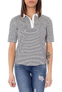 Morgan De T Toi Blanc Polyester Dromamwhite Femme Shirt hdsQCBtrxo