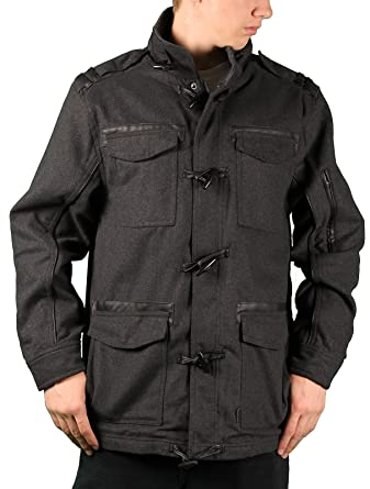 Sportier Men's Wool-Blend Toggle Coat at Amazon Men's Clothing store: