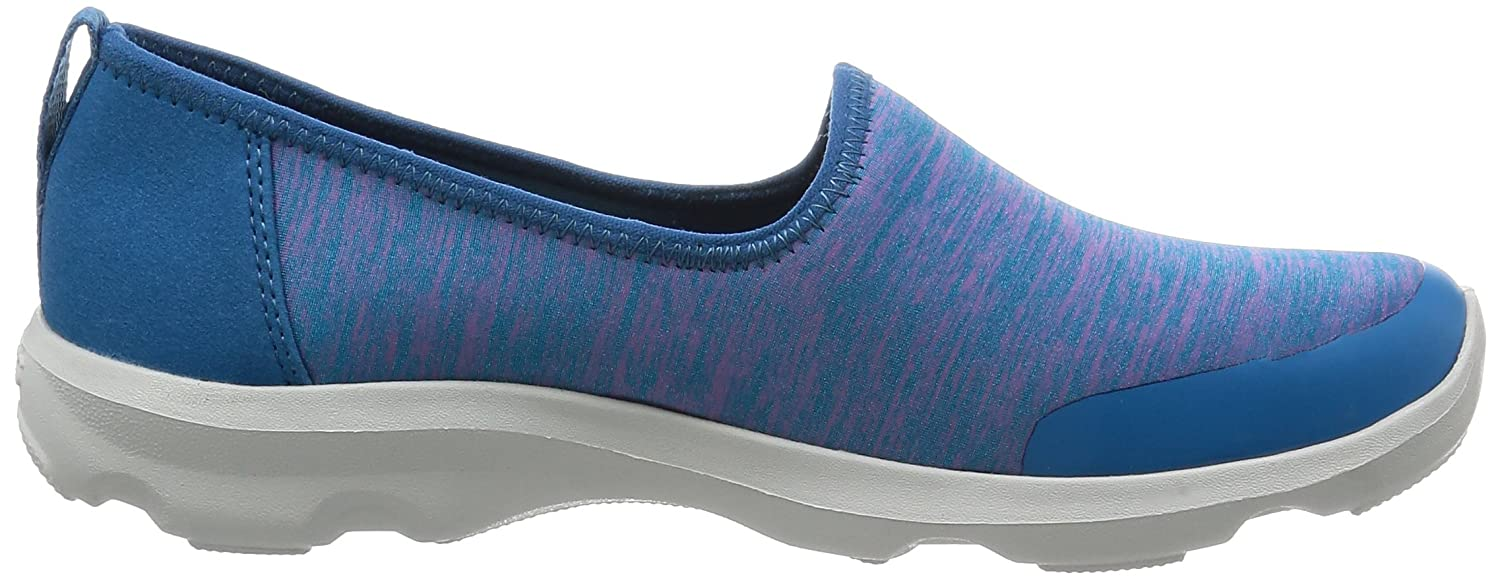 Crocs Women's Busy Day Knit Skimmer Flat B01HQB93TY 6 M US|Navy
