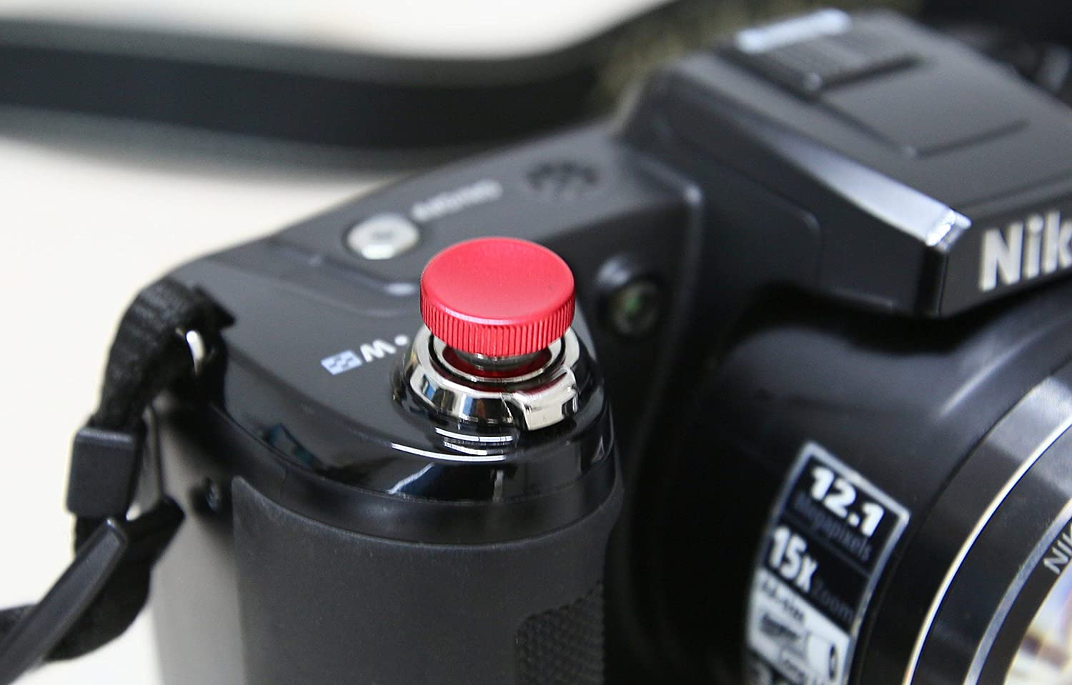 Lolumina 13MM Diameter Red Concave KN-CCV Soft-Release Button Complete Kit for Fujifilm X-T1 Sony A7