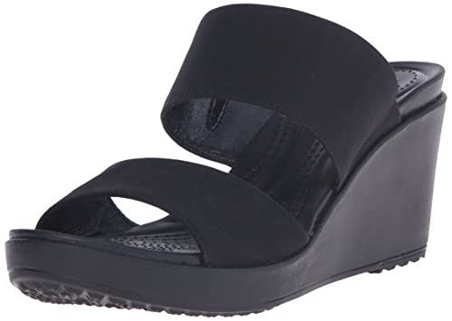 9ebb2f4312a4 Crocs Women s Leigh II 2 Strap Wedge Sandal  Crocs  Amazon.ca  Shoes ...