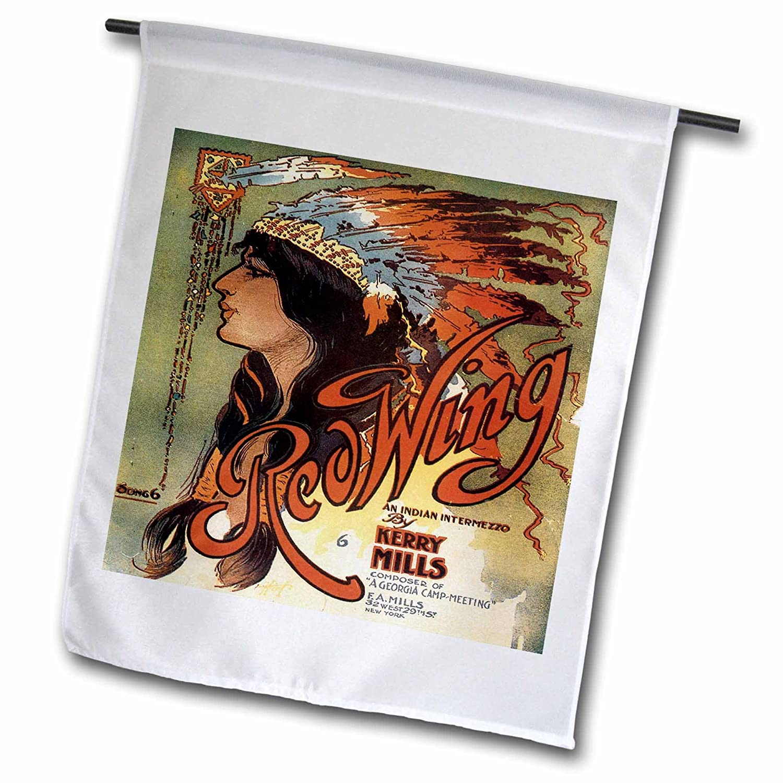 Amazon com : 3dRose fl_169969_1 Ogalalla Indian Love Song