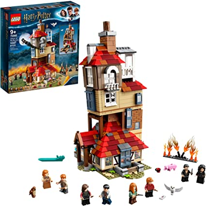 Lego Harry Potter Attack On The Burrow 75980 Building Kit Toys Games