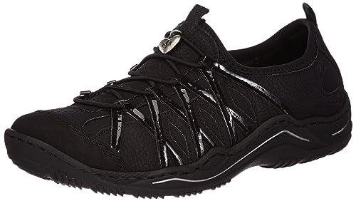 best sneakers 1722f 6a258 Rieker L0564 Damen Sneakers