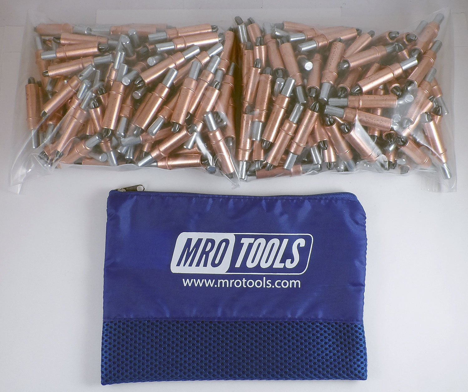 250 1/4 Cleco Sheet Metal Fasteners w/ Mesh Carry Bag (K2S250-1/4) by MRO Tools Cleco Fasteners