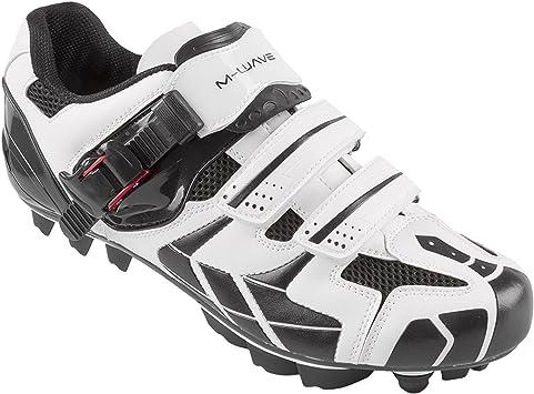 M-Wave X1 - Zapatillas para Bicicleta de montaña, Color Blanco y ...