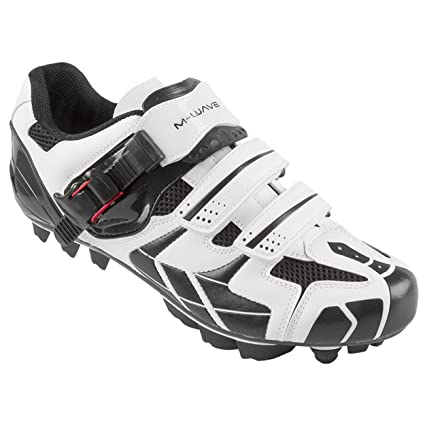 Amazon.com : M-Wave X1 Mountain Bike Shoe, White/Black, 39 : Sports & Outdoors