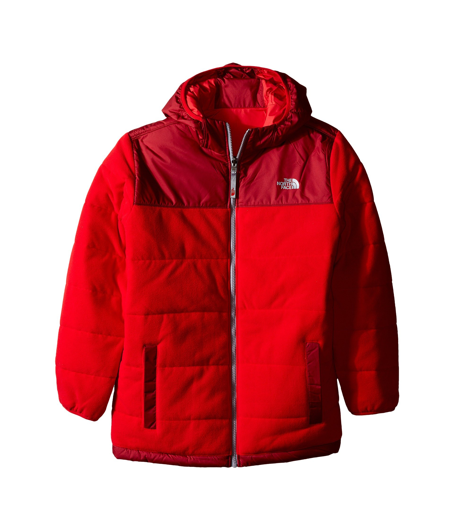 The North Face Reversible True Or False Jacket Boys' TNF Red X-Large