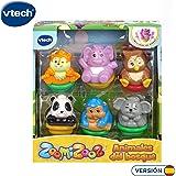 VTech ZoomiZoos - Set de 6 Juguetes de Animales, Motivo de ...