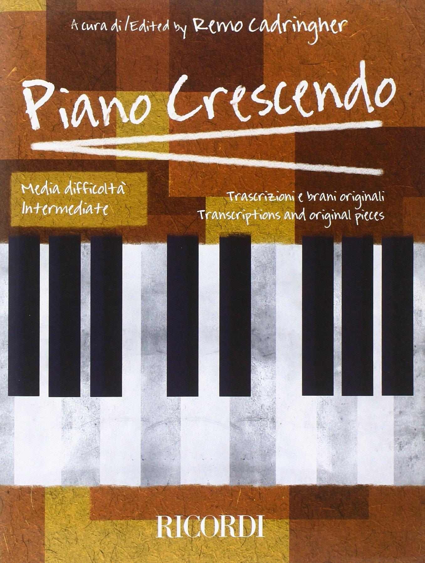 PIANO CRESCENDO - MEDIA DIFFICOLTA Copertina flessibile – 8 feb 2012 AA.VV. Ricordi 0041404688 Music