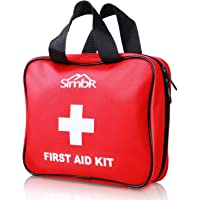 SIMBR First Aid Kit (Medical Tool Style-120 Piece) Backpacking Frist Aid Kit Compact for Hiking, Emergency at Home, Outdoors, Car, Camping, Workplace and Survival