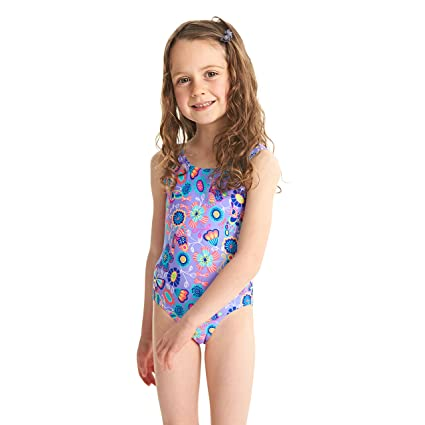 a3357e64b Zoggs Bañador para niñas Wild Bañador  Amazon.es  Deportes y aire libre