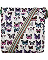 Ladies Girls Owl Flower Polka Dots Butterfly Canvas Bag