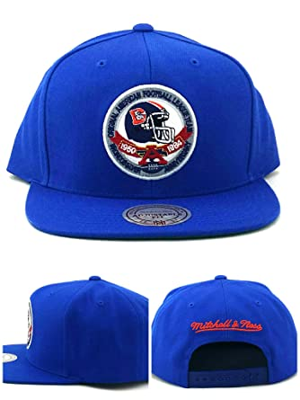2fac0f0b Amazon.com: Mitchell & Ness Denver Broncos New 25th Silver Anniversary Blue  Era Snapback Hat Cap: Clothing