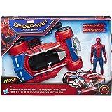 Hasbro Marvel Spider-Man-B9703EU4 Veicolo Lancia Dardi Nerf,, 33 x 22 cm, B9703EU4