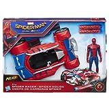 Marvel Spiderman - B9703EU40 - Spiderman Figurine 15 cm + Véhicule Movie