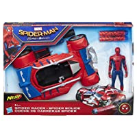 Hasbro Marvel Spider-Man Spiderman - Veicolo Lancia Dardi Nerf