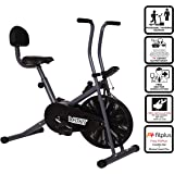 Fitkit FK500 Steel Airbike with Free 3 Month Diet and Fitness Plan by certified Dietitian , Personal Trainer , Doctor Consultation and Free Installation at Home