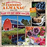 The old farmer 39 s almanac 2018 gardening calendar old - Old farmer s almanac garden planner ...