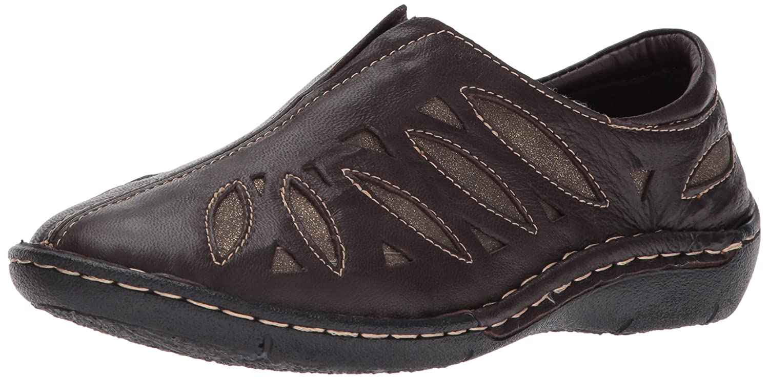 Propet Women's Cameo Flat B01MTV4PB9 6.5 2E US|Chocolate/Bronze