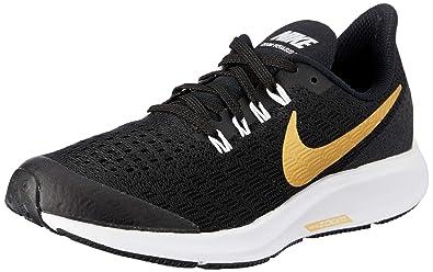 0e4937009 Nike Australia Girls Air Zoom Pegasus 35 SH GS Fashion Shoes, Black/Metallic  Gold