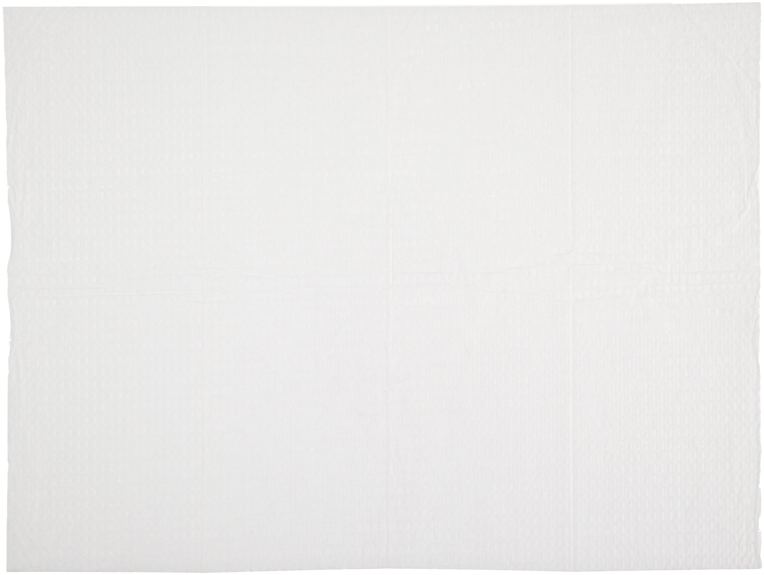 Impact 1171 Paper Baby Changing Table Liner, 13-1/2'' Length x 18'' Width, White (Case of 500)