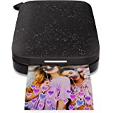 """HP Sprocket Portable Photo Printer (2nd Edition) – Instantly print 2x3"""" sticky-backed photos from your phone – [Noir…"""