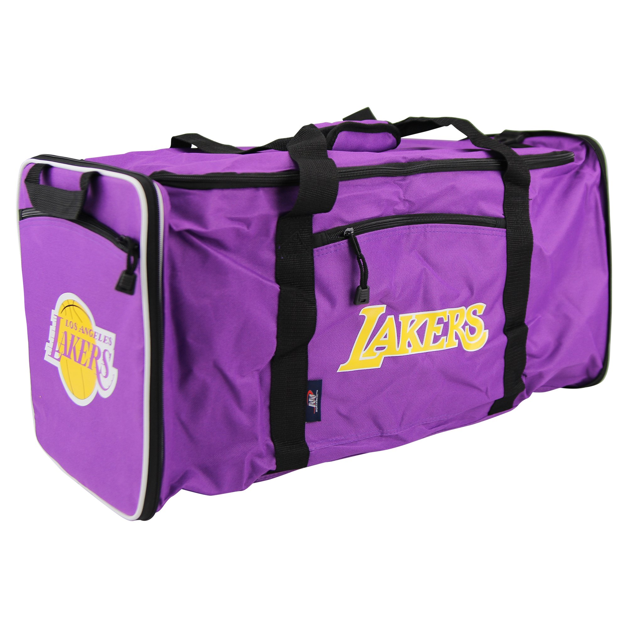 The Northwest Company NBA Team Logo Extended Duffle Bag (Los Angeles Lakers)