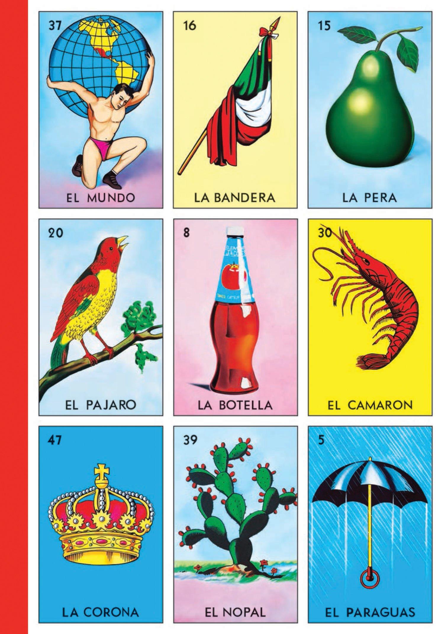 Loteria Tablas Journal: Don Clemente Gallo: 9781452133232: Amazon.com: Books