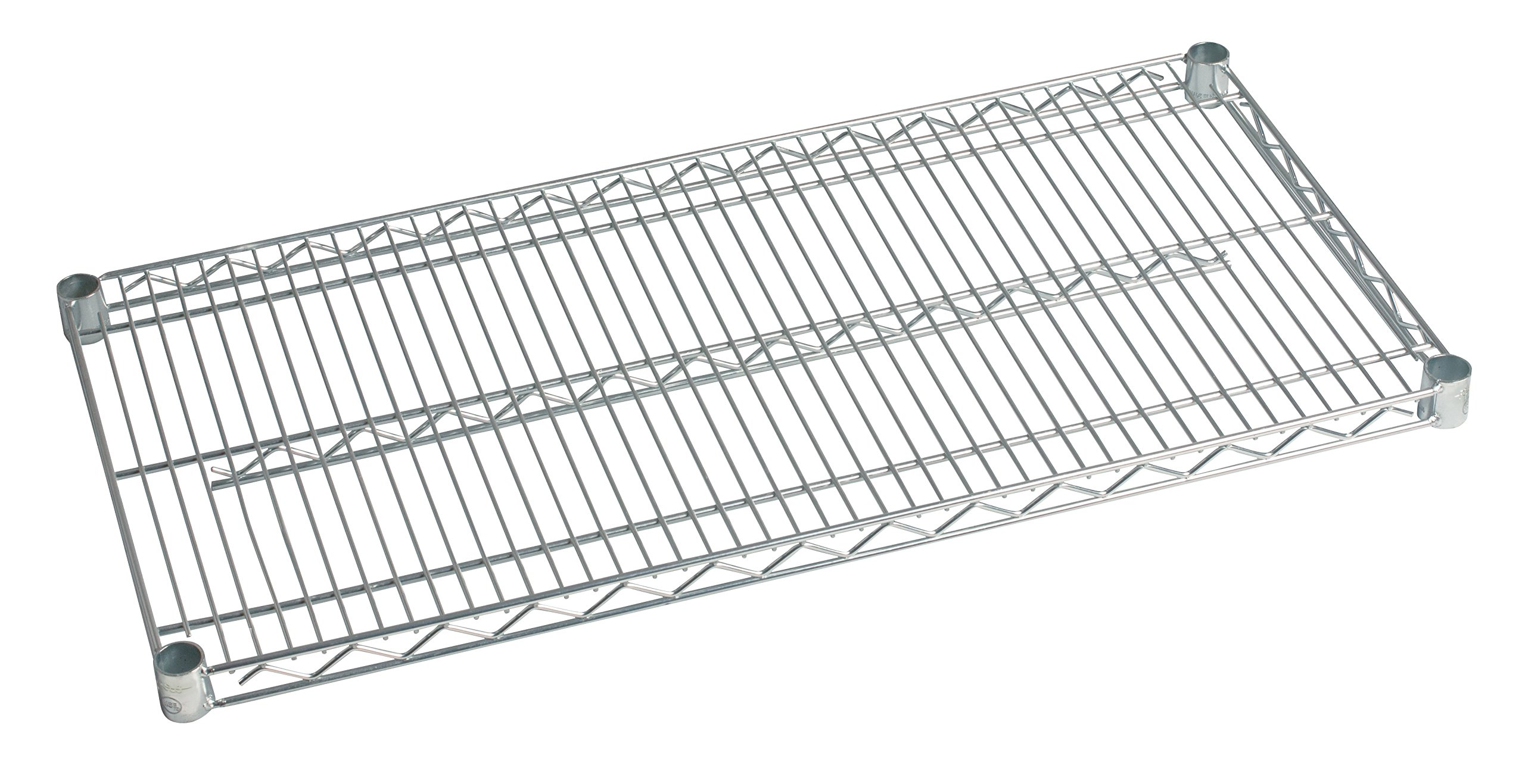 14'' Deep x 60'' Wide Individual Stainless Wire Shelf
